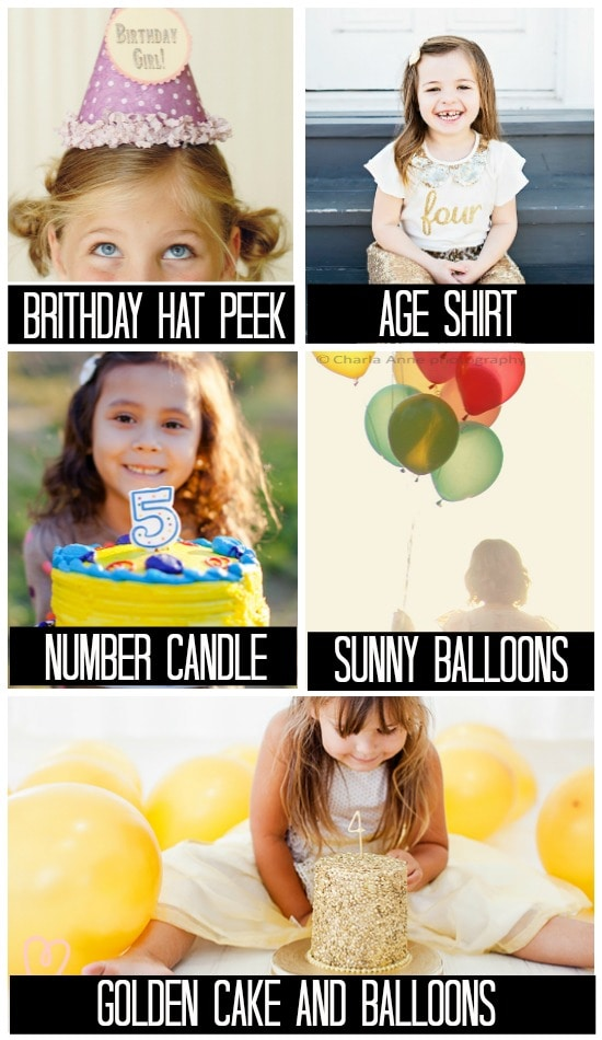 Birthday Photo Ideas for Older Children and Adults