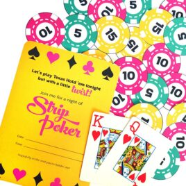 Date night is going to be you playing strip poker with your spouse! | The Dating Divas