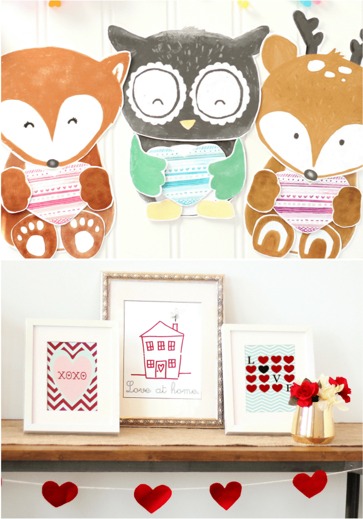 Darling Valentine's Bundle With Crafts and Prints