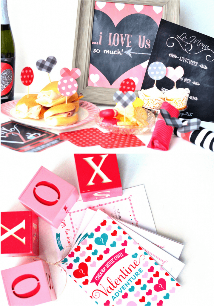 Valentine's Day Date Ideas and Printables