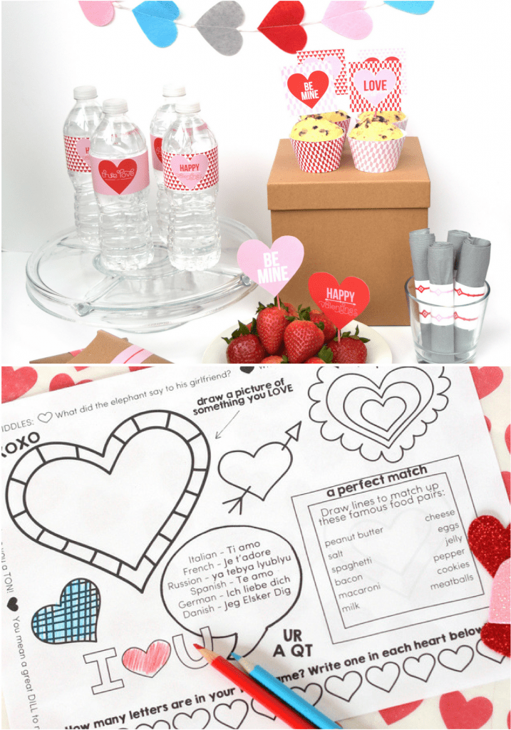 Valentine's Day Party Printables