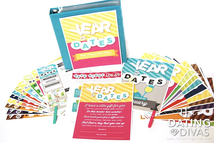 Year of Dates Binder Set