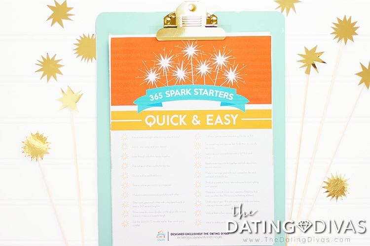 Quick and easy ways to rekindle the spark!