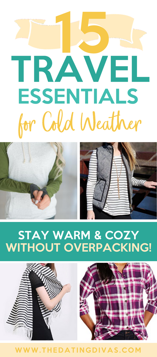 Cold Weather Travel Essentials