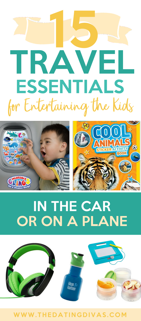 Travel Activities for Kids and Toddlers