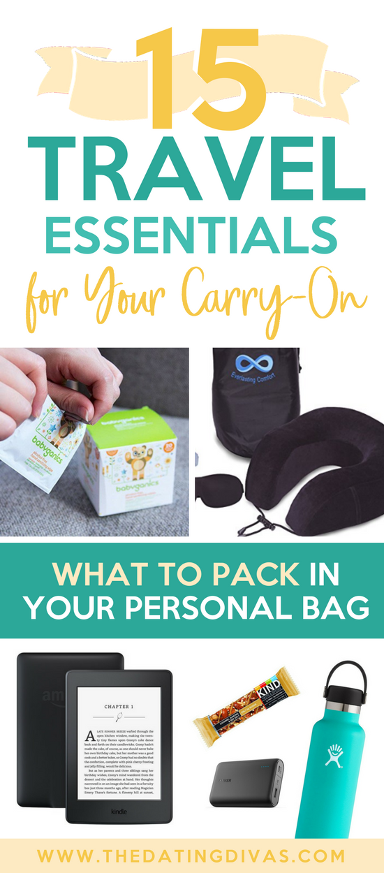 What to Bring in Your Carry-On