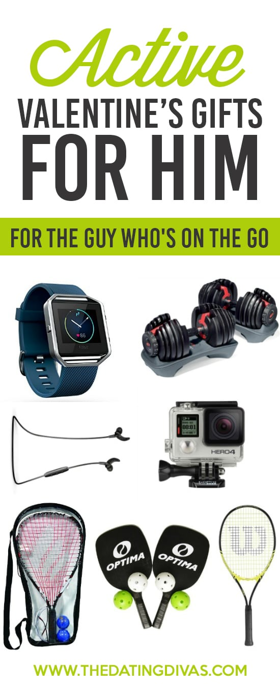 Creative Valentine's Day Gift Ideas for Him - The Active Guy