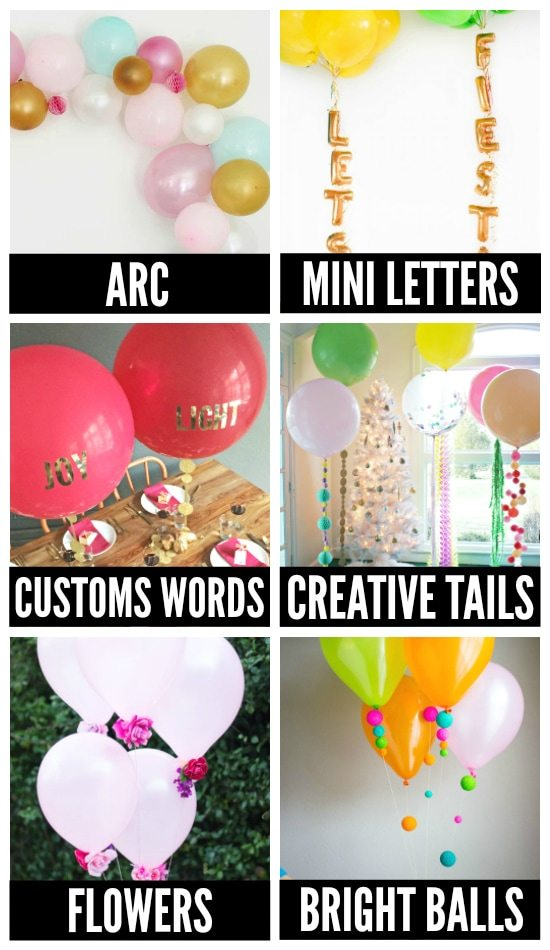 Creative Balloon ideas for a Birthday Party