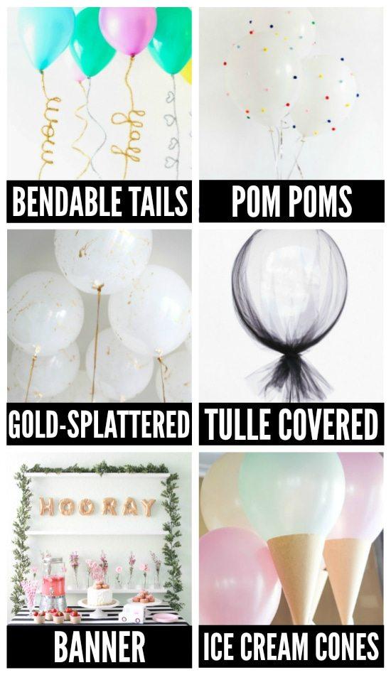 Birthday Balloon Ideas