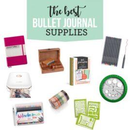 Bullet Journaling Supplies