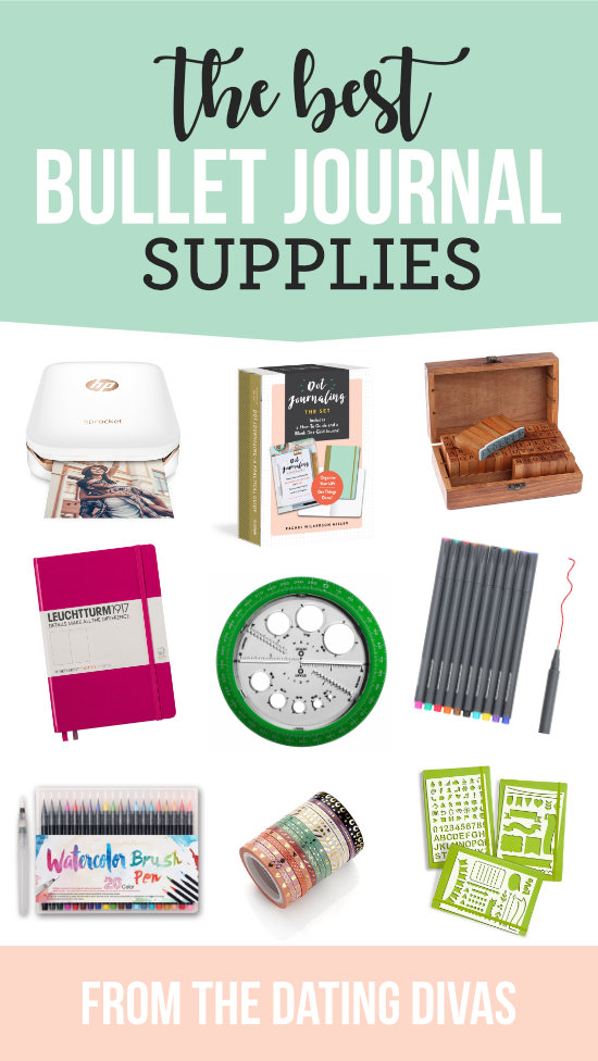 Best Bullet Journal Supplies #bulletjournal #journaling