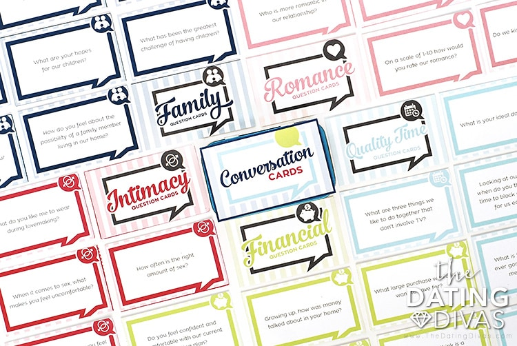 Conversation Cards for Couples