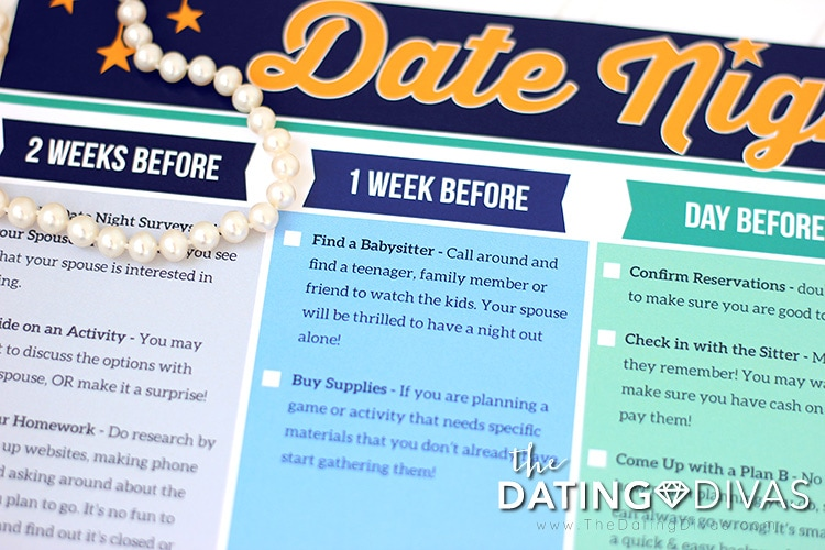 Date Night Checklist