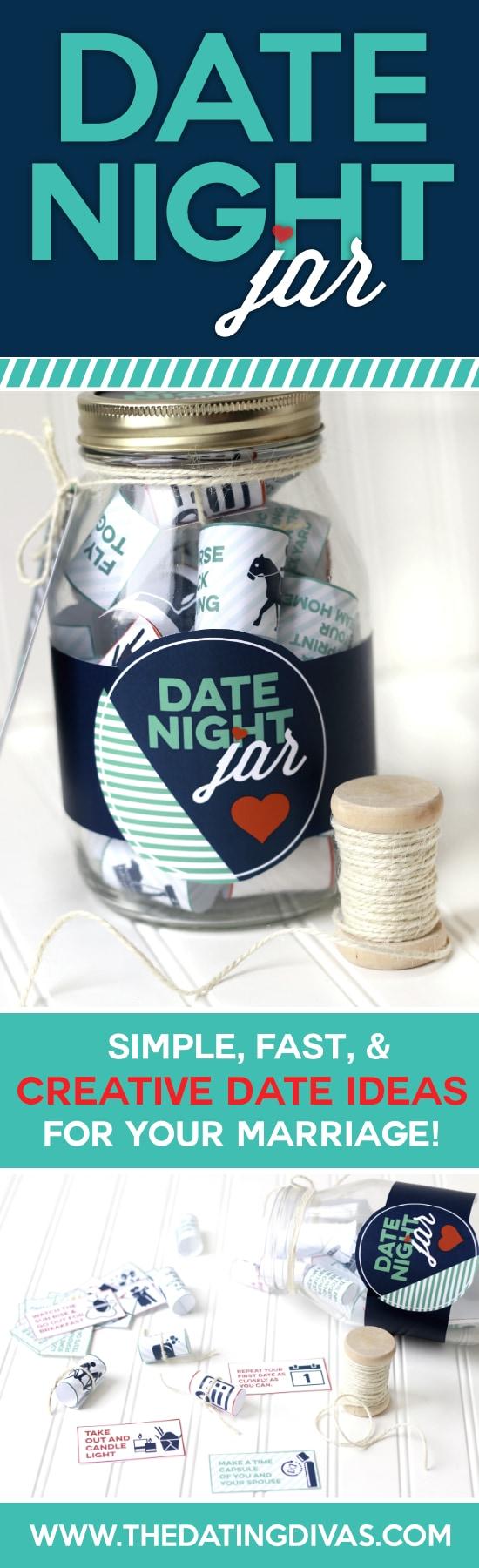 Creative Date Night Ideas Jar Wedding Galery