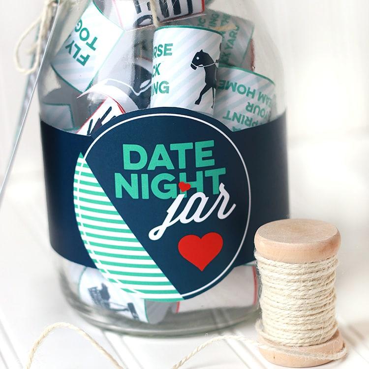 Date night jar in Australia
