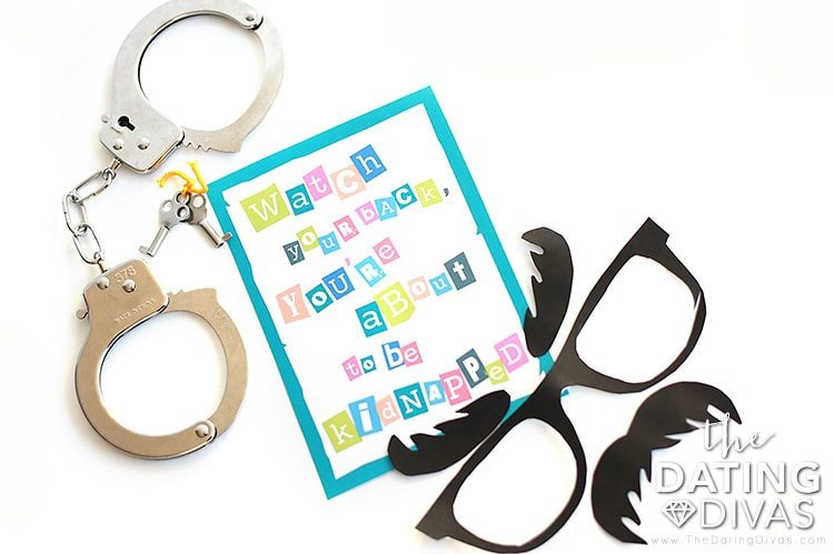 Kidnap Your Spouse Date Night Invite