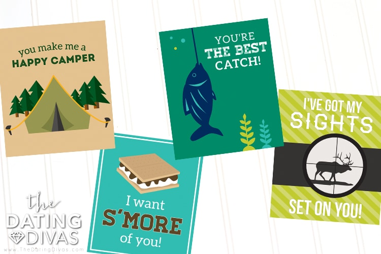 Outdoor Man-Approved Valentine's Cards