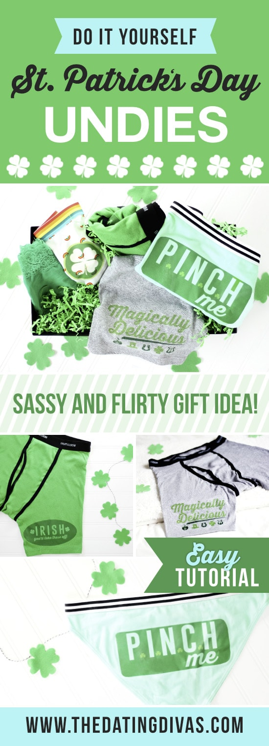 St. Patrick's Day DIY Panties and Undies