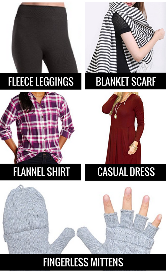 Warm Clothes for Cold Weather Travel