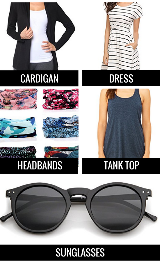 Favorite Items and Products for Traveling in Warm, Tropical Weather