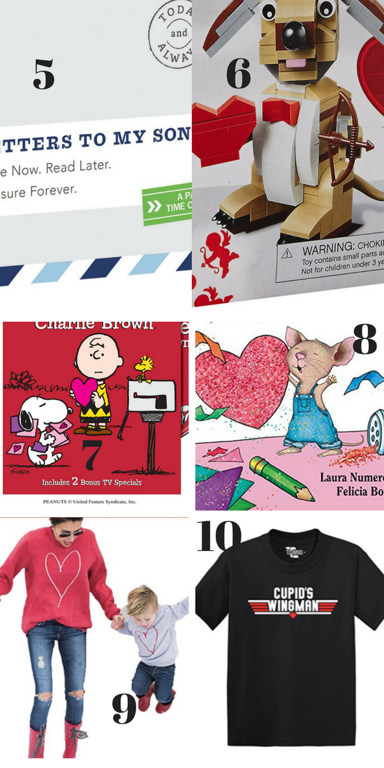 Valentine's Gifts for Boys #ValentinesForBoys