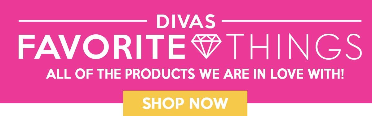 Divas' Favorite Things Newsletter Header