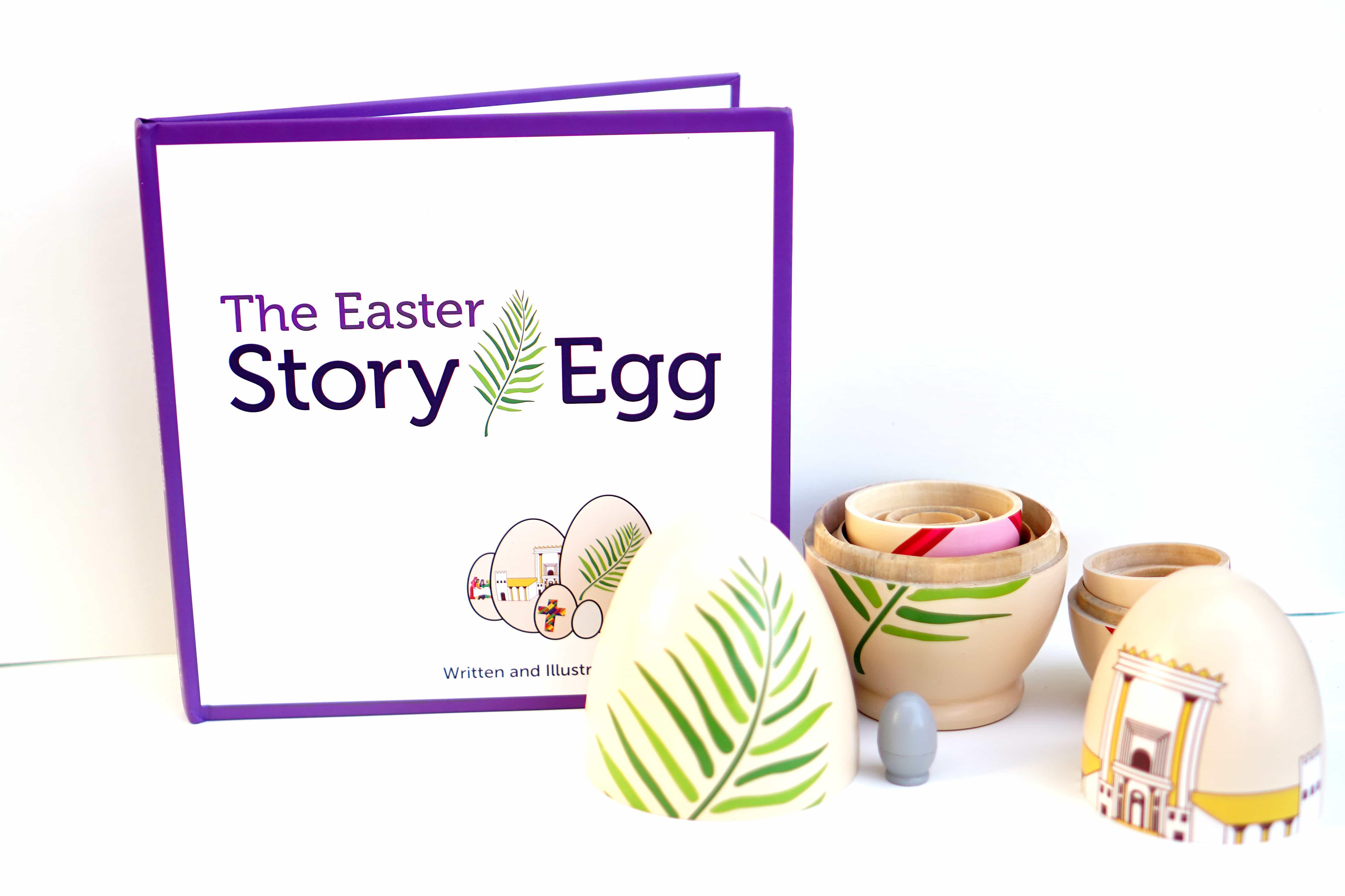 Easter Story Nesting Eggs