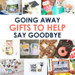 Cheap & Easy Goodbye Gifts
