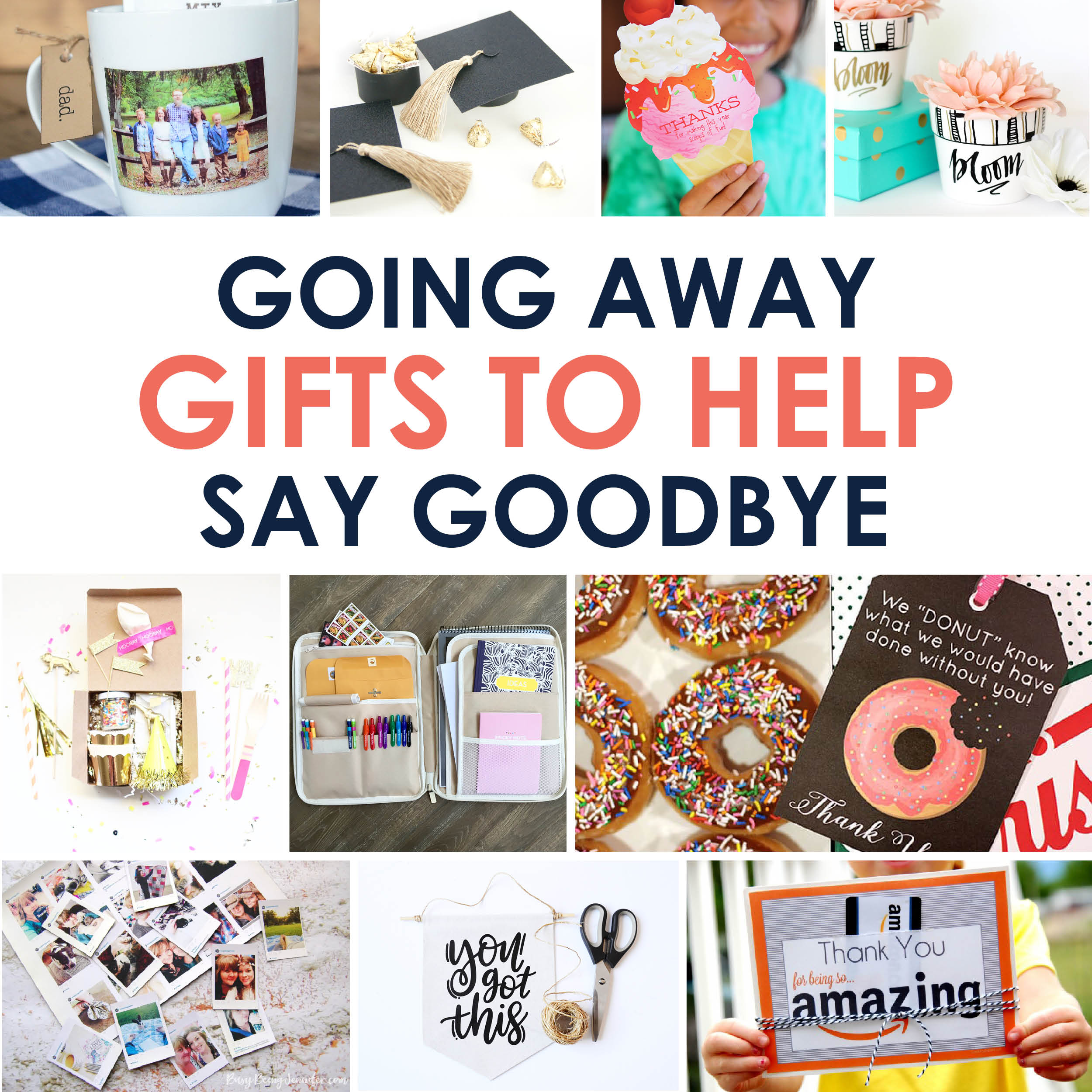 Going Away Gifts to Help Say Goodbye | The Dating Divas