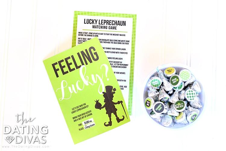 Lucky Leprechaun Date Invite