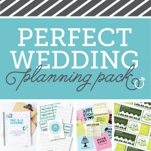 Perfect Wedding Planning Pack -700 square