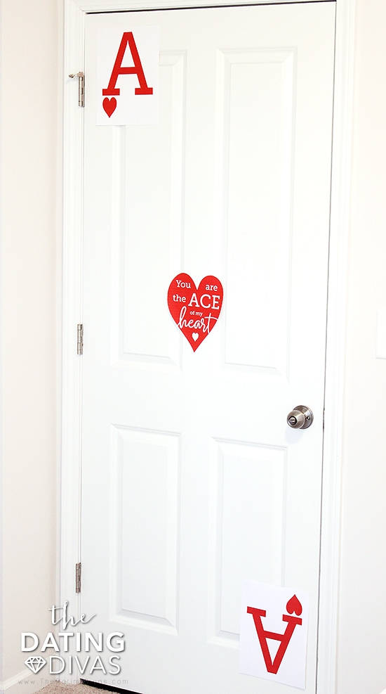 Sexy Card Bedroom Door