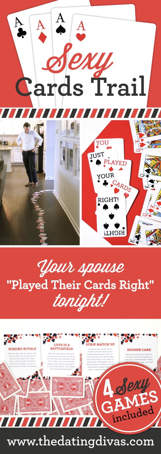 Sexy Cards Trail Intimacy Idea