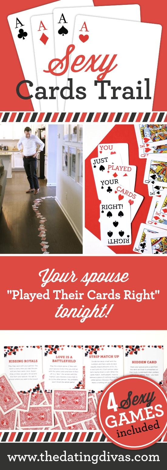 Sexy Cards Trail Intimacy Idea