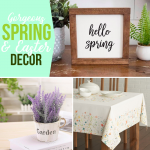Gorgeous Spring and Easter Decor