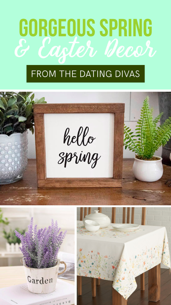 Spring and Easter Decor #Easter #Springdecor