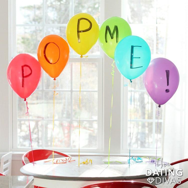 St. Patrick's Day Balloon Surprise Idea