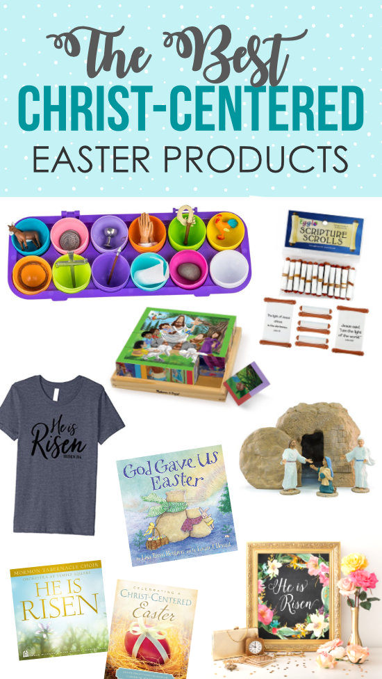 The Best Christ Centered Easter Products #easterideas #easterbooks
