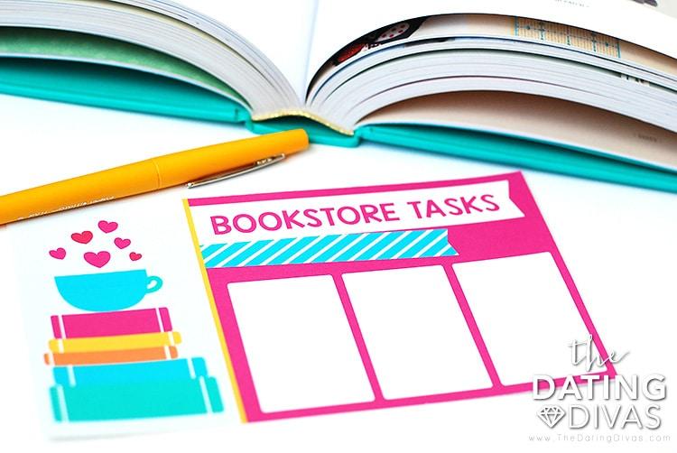 Bookstore Date Blank Tasks
