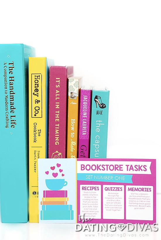 Bookstore Date Task Card