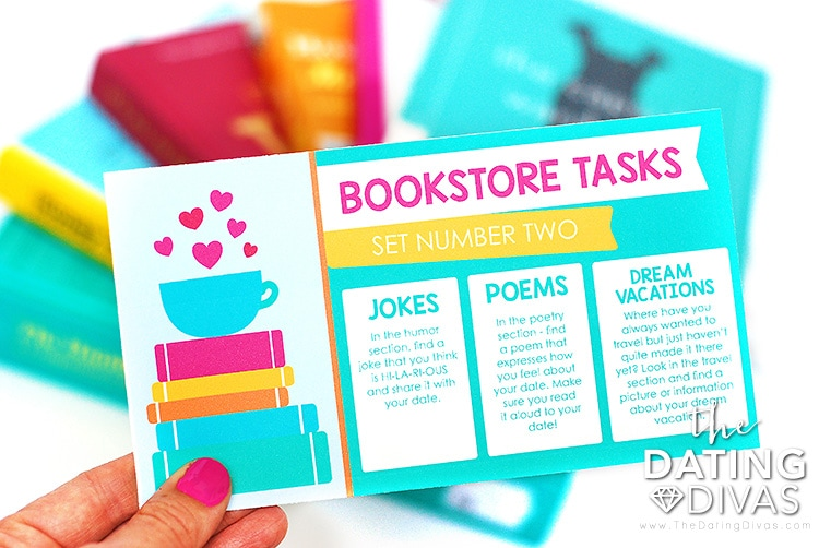 Bookstore Date Tasks