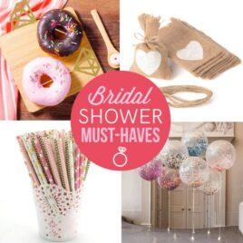 Bridal Shower Needs