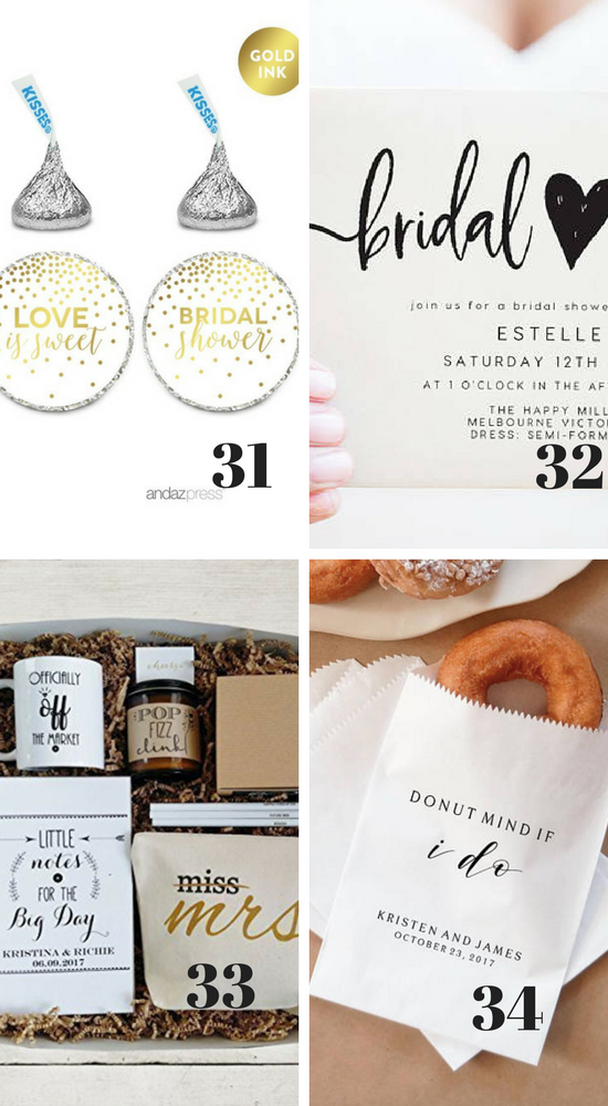 Bridal Shower Must-Haves