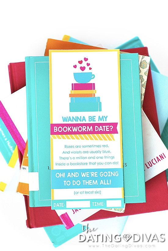 Bookstore date dating divas printables