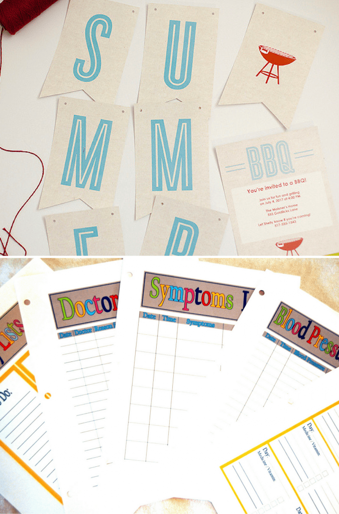 Fun Summer Printables