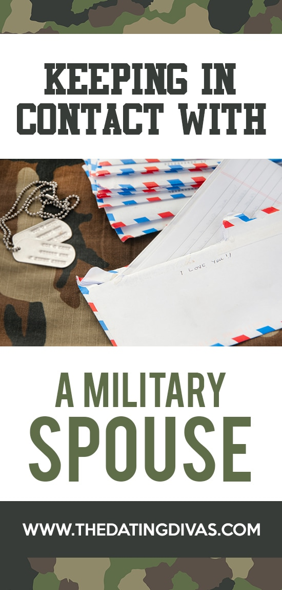 Keeping In Contact With Military Spouses