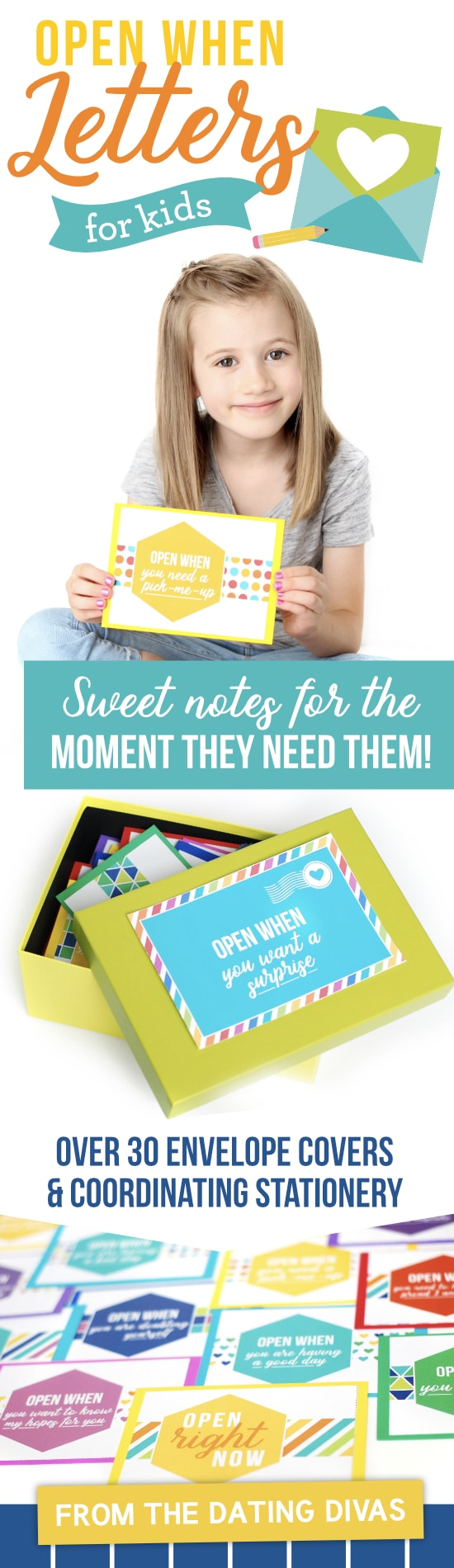 Mother's Day Sale - Connect with your little ones using our Open When Letters for Kids!