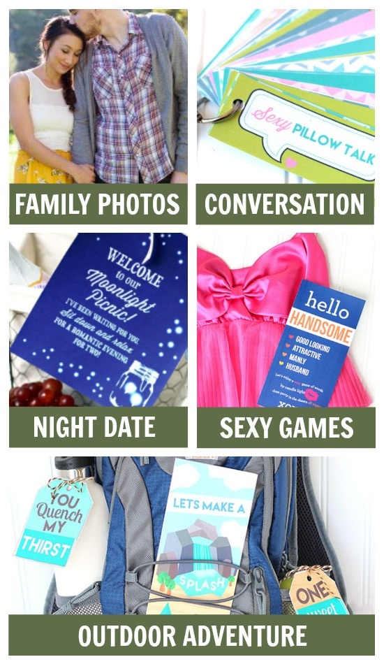 Pre-deployment ideas for family activities.