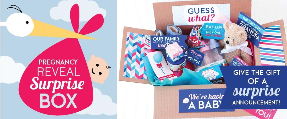 Pregnancy Reveal Box