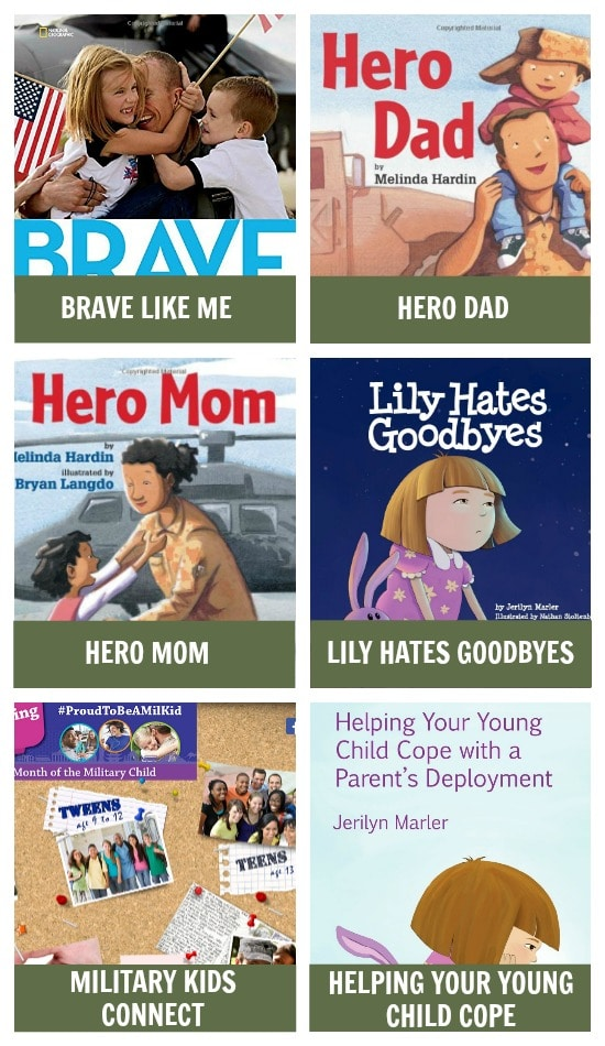 Pre-deployment Books for Military Kids